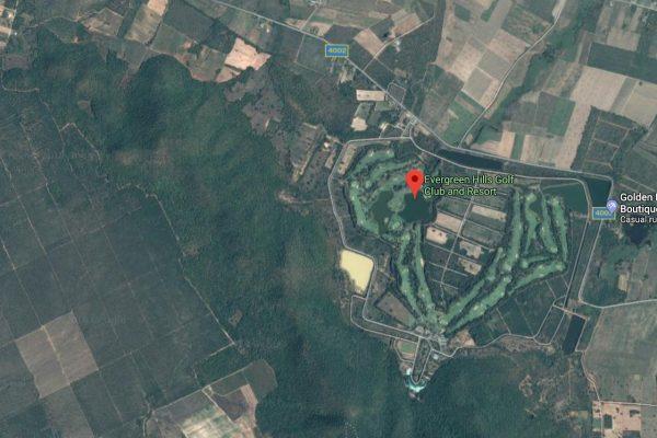 ที่ดินสนามกอล์ฟเอเวอร์กรีน ฮิลล์ กอล์ฟคลับ จังหวัดกาญจนบุรี